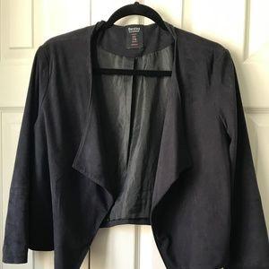 Bershka short blazer size L black
